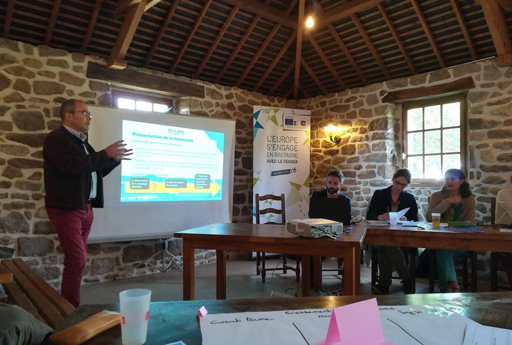 Ateliers sur la stratégie agricole de Dinan Agglomération