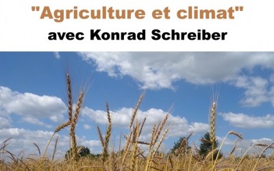 "Conférence – Dialoguée ""Agriculture & climat"""