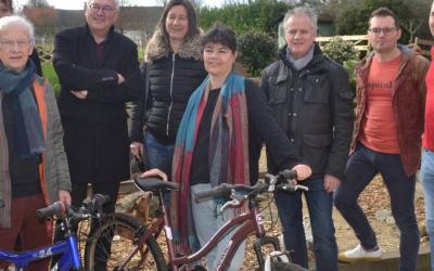 La commission mobilité présente son projet de recyclerie de vélos